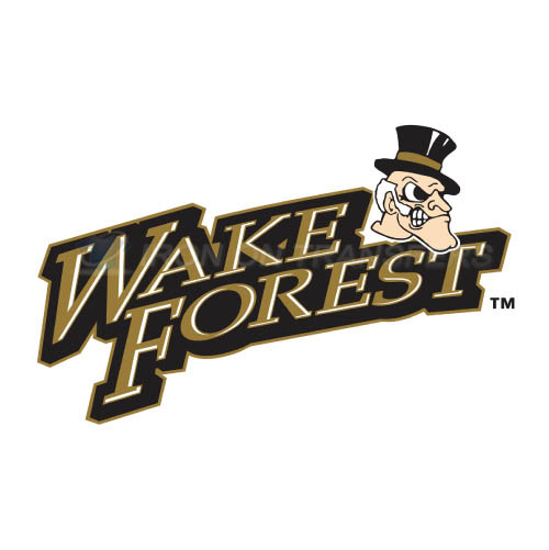 Wake Forest Demon Deacons Logo T-shirts Iron On Transfers N6872