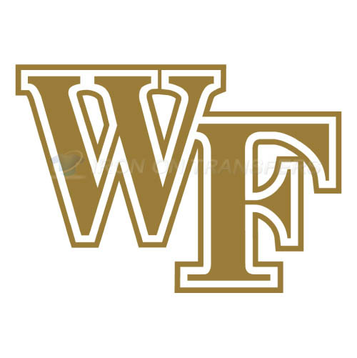 Wake Forest Demon Deacons Logo T-shirts Iron On Transfers N6874