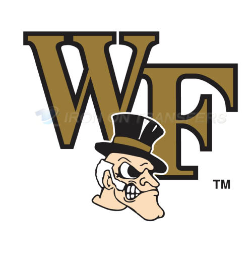 Wake Forest Demon Deacons Logo T-shirts Iron On Transfers N6875