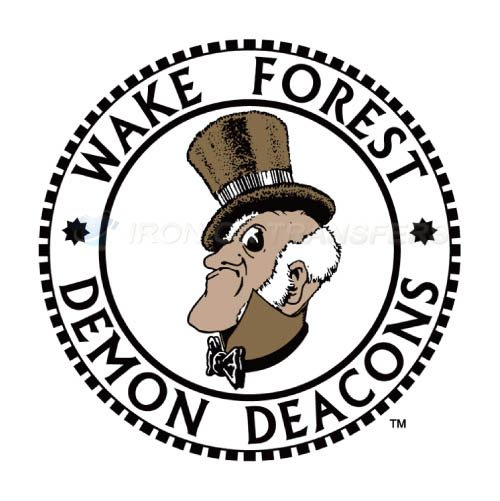 Wake Forest Demon Deacons Logo T-shirts Iron On Transfers N6882