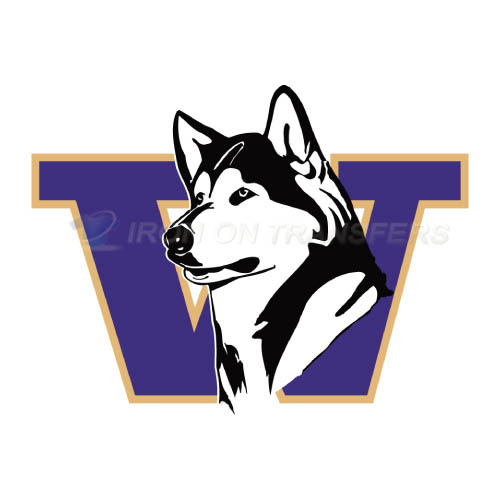 Washington Huskies Logo T-shirts Iron On Transfers N6888