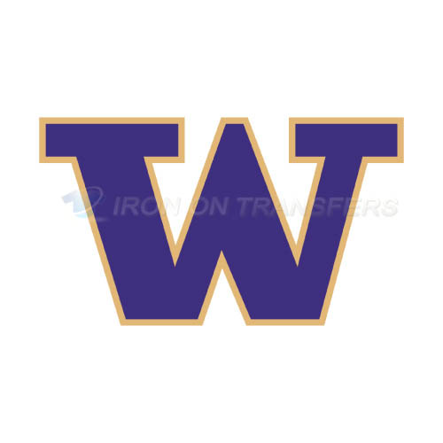 Washington Huskies Logo T-shirts Iron On Transfers N6891