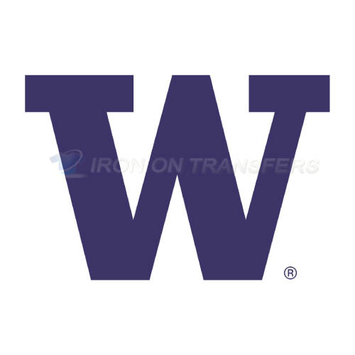 Washington Huskies Logo T-shirts Iron On Transfers N6894