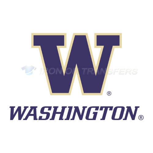 Washington Huskies Logo T-shirts Iron On Transfers N6895