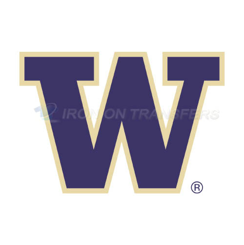 Washington Huskies Logo T-shirts Iron On Transfers N6896