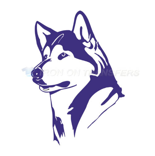 Washington Huskies Logo T-shirts Iron On Transfers N6898