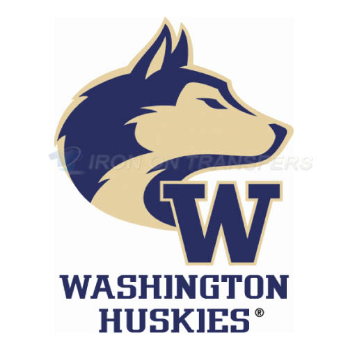 Washington Huskies Logo T-shirts Iron On Transfers N6899