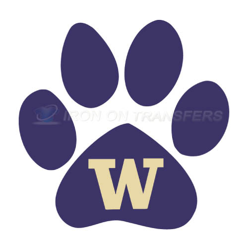 Washington Huskies Logo T-shirts Iron On Transfers N6900
