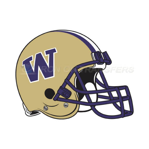 Washington Huskies Logo T-shirts Iron On Transfers N6904