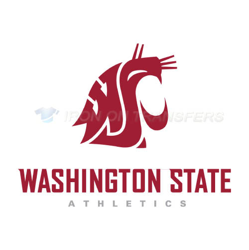 Washington State Cougars Logo T-shirts Iron On Transfers N6907