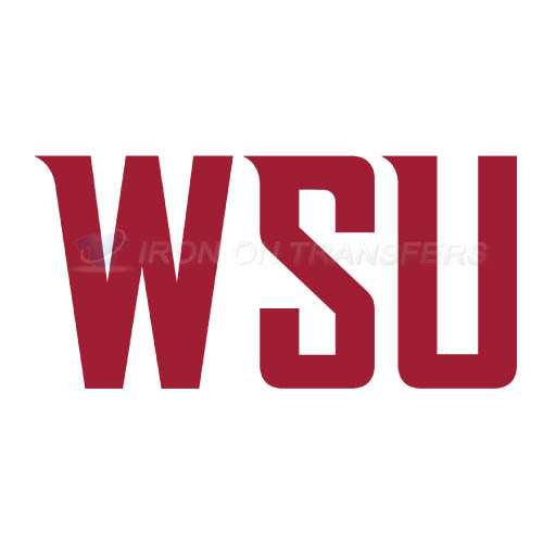 Washington State Cougars Logo T-shirts Iron On Transfers N6909