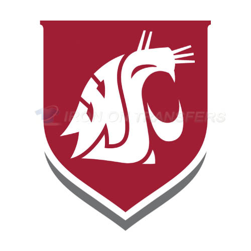 Washington State Cougars Logo T-shirts Iron On Transfers N6914
