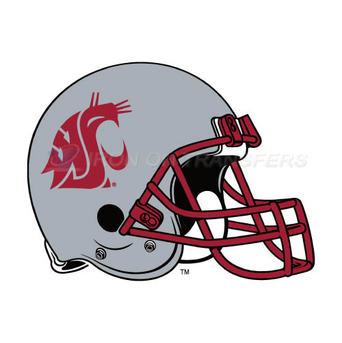 Washington State Cougars Logo T-shirts Iron On Transfers N6915