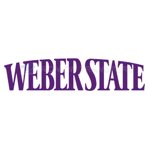Weber State Wildcats Logo T-shirts Iron On Transfers N6916