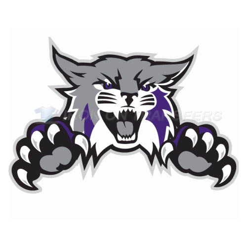 Weber State Wildcats Logo T-shirts Iron On Transfers N6922