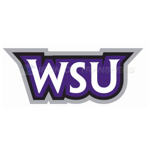 Weber State Wildcats Logo T-shirts Iron On Transfers N6923