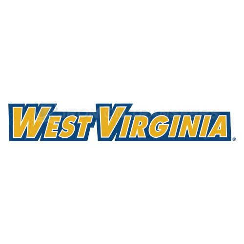 West Virginia Mountaineers Logo T-shirts Iron On Transfers N6927