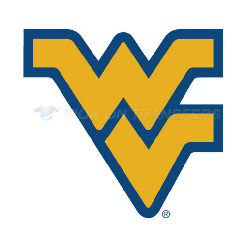 West Virginia Mountaineers Logo T-shirts Iron On Transfers N6935