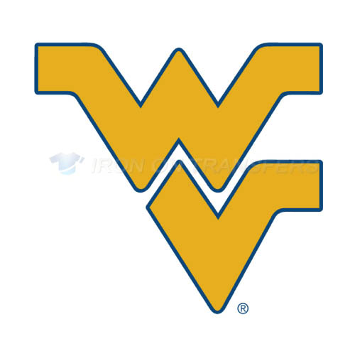West Virginia Mountaineers Logo T-shirts Iron On Transfers N6936