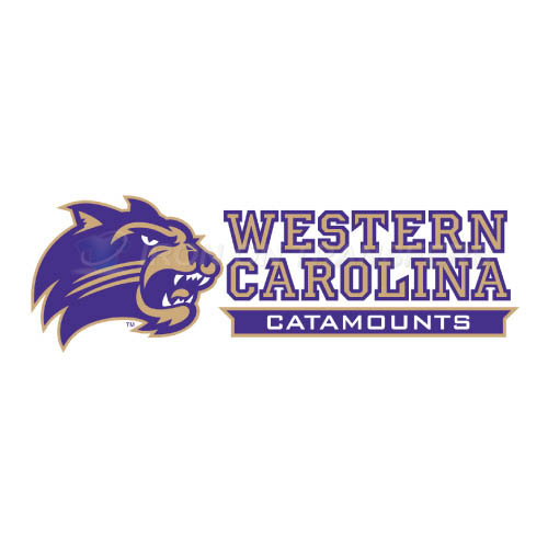 Western Carolina Catamounts Logo T-shirts Iron On Transfers N695