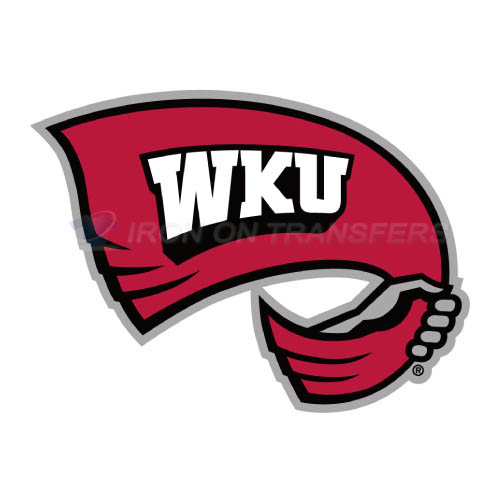 Western Kentucky Hilltoppers Logo T-shirts Iron On Transfers N69