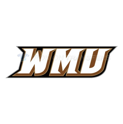 Western Michigan Broncos Logo T-shirts Iron On Transfers N6989