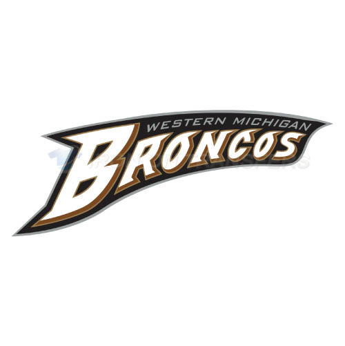 Western Michigan Broncos Logo T-shirts Iron On Transfers N6991