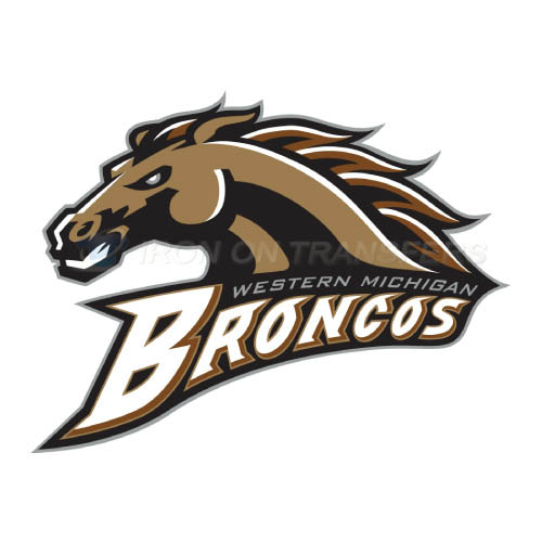 Western Michigan Broncos Logo T-shirts Iron On Transfers N6994