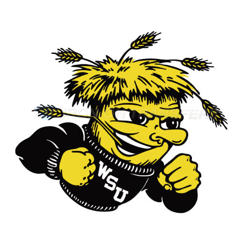Wichita State Shockers Logo T-shirts Iron On Transfers N6996
