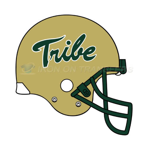 William and Mary Tribe Logo T-shirts Iron On Transfers N7007