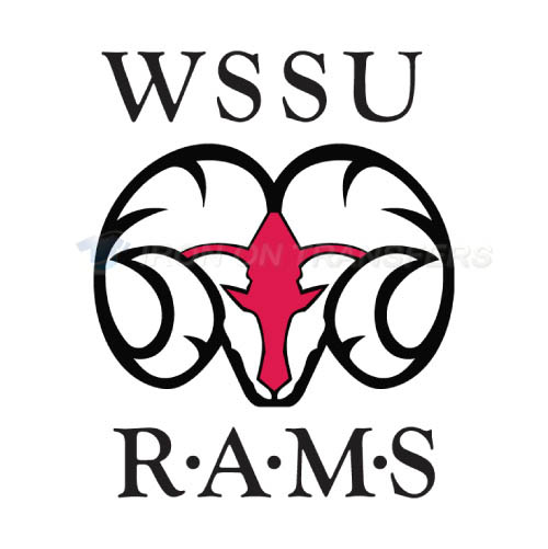 Winston Salem State Rams Logo T-shirts Iron On Transfers N7009