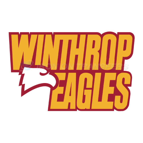 Winthrop Eagles Logo T-shirts Iron On Transfers N7011