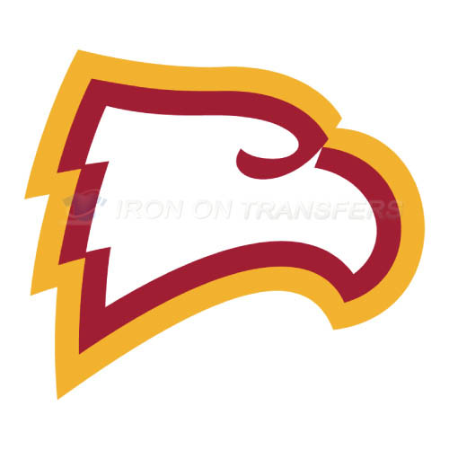 Winthrop Eagles Logo T-shirts Iron On Transfers N7012