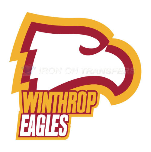 Winthrop Eagles Logo T-shirts Iron On Transfers N7016