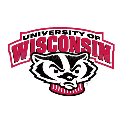 Wisconsin Badgers Logo T-shirts Iron On Transfers N7019