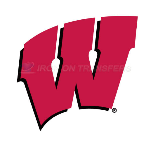 Wisconsin Badgers Logo T-shirts Iron On Transfers N7020