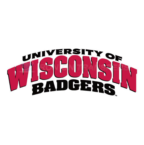 Wisconsin Badgers Logo T-shirts Iron On Transfers N7023
