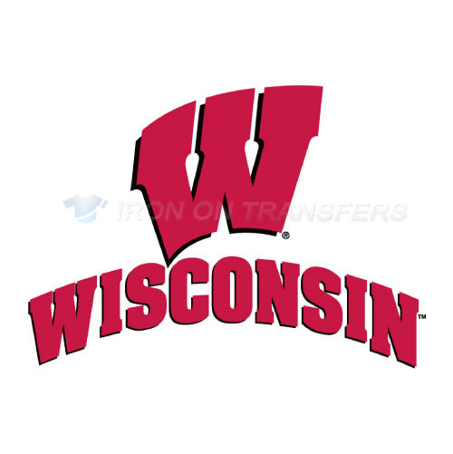 Wisconsin Badgers Logo T-shirts Iron On Transfers N7024