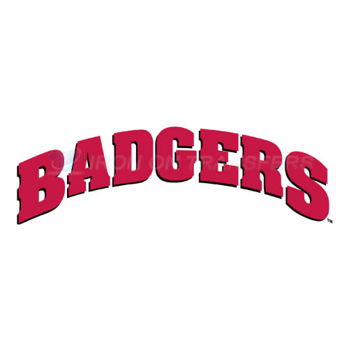 Wisconsin Badgers Logo T-shirts Iron On Transfers N7026