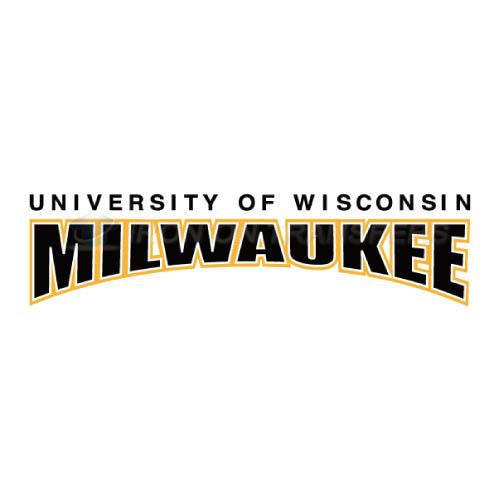 Wisconsin milwaukee panthers logo t shirts iron on transfers n70