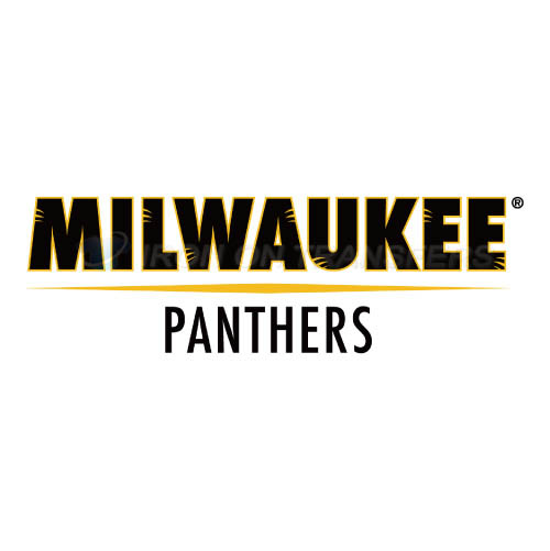 Wisconsin Milwaukee Panthers Logo T-shirts Iron On Transfers N70