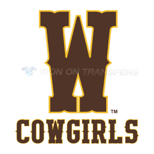 Wyoming Cowboys Logo T-shirts Iron On Transfers N7062