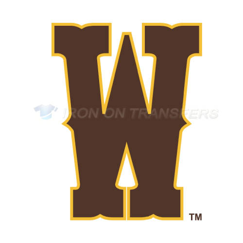 Wyoming Cowboys Logo T-shirts Iron On Transfers N7065