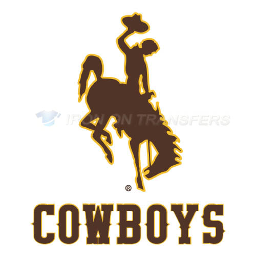 Wyoming Cowboys Logo T-shirts Iron On Transfers N7070