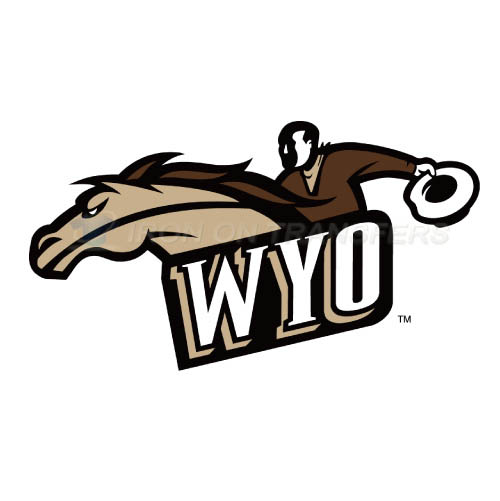 Wyoming Cowboys Logo T-shirts Iron On Transfers N7071