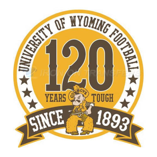 Wyoming Cowboys Logo T-shirts Iron On Transfers N7073