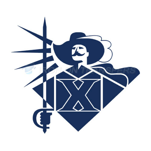 Xavier Musketeers Logo T-shirts Iron On Transfers N7077