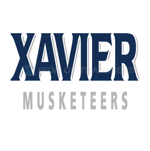 Xavier Musketeers Logo T-shirts Iron On Transfers N7080