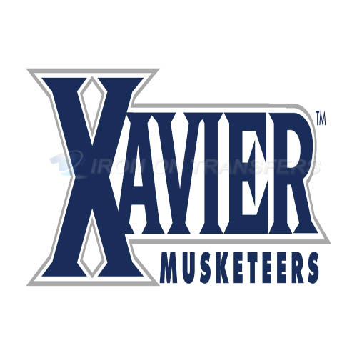 Xavier Musketeers Logo T-shirts Iron On Transfers N7086