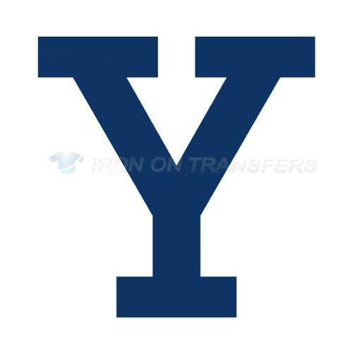 Yale Bulldogs Logo T-shirts Iron On Transfers N7093
